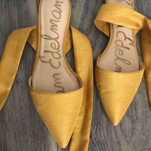 12c2bc5193c8 Sam Edelman Shoes - WOMEN S BRANDIE POINTED TOE FLAT SUNSET YELLOW